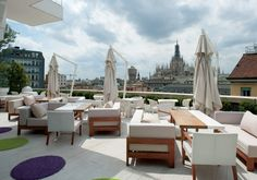 Boscolo Milano | Luxury terrace downtown Milano