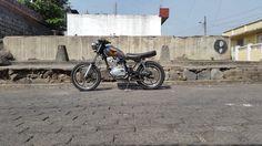 Suzuki GN125 Street Tracker by Memö Rocket #motorcycles #streettracker #motos | caferacerpasion.com