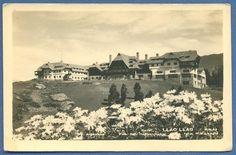 * patagonia bariloche hotel llao llao antigua foto postal