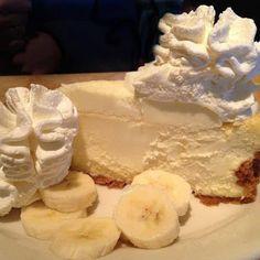 RECIPES BLOG: Banana Cream Cheesecake