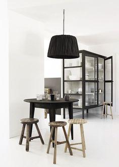 10x zwart en hout in huis (via Bloglovin.com )