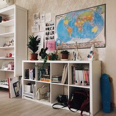 117 enthralling aesthetic bookshelf ideas page 26 Room Ideas Bedroom, Diy Room Decor, Bedroom Decor, Room Decorations, My New Room, My Room, Deco House, Ikea Inspiration, Aesthetic Room Decor