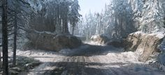 ArtStation - Warface - Winter Setting 1st Akt, Tom Deerberg