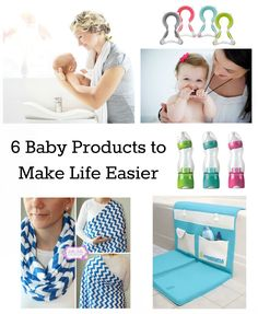 6 Baby Products That Make Life Easier: I gotta hand it to whomever came up with this list - a lot of these WOULD make baby life a heck of a lot easier.