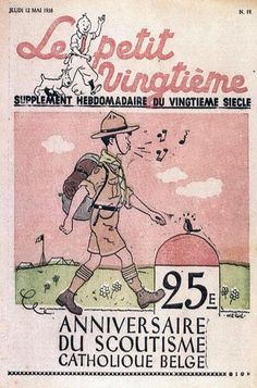 25ème anniversaire du scoutisme catholique belge