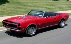 cars, Muscle Cars, Exotic cars for Sale | Flemings Ultimate Garage - :: 1968 Chevrolet Camaro SS Convertible with A/C - Classic