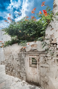 Photograph Street in Naxos at midday (Greece) by jack metthey on Oh The Places You'll Go, Places To Travel, Places To Visit, Beautiful World, Beautiful Places, Naxos Greece, Greece Islands, Greece Travel, Pictures To Paint