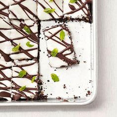 Dark Chocolate Mint Bites