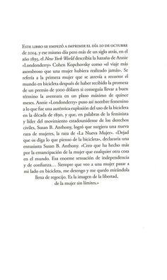"""ERSKINE, F. J. """"Damas en bicileta: como vestir y normas de comportamiento"""". Madrid: Impedimenta, 2014."""