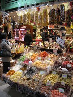 negozio della pasta nel Mercato Centrale