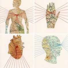 The body as a map.