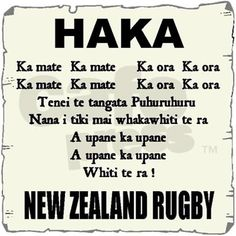 I love watching videos of the NZ Rugby Haka. All Blacks Rugby Team, Nz All Blacks, Rugby League, Rugby Players, All Love Songs, Son Hak, New Zealand Rugby, World Rugby, Good To Know