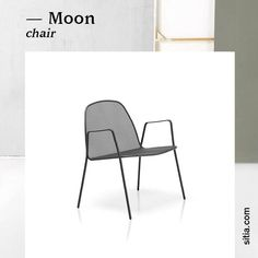Moon La collezione Outdoor è costituita da sedie e poltroncine con o senza braccioli, che permettono di sfruttare al massimo gli spazi esterni e ritrovare la piena armonia con la natura.  _ www.sitia.com