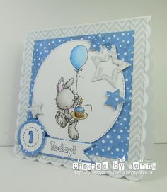 Hi folks, hope you are all ok and having a lovely Sunday so far. You may have heard that some fantastic old favourites are coming back t. Baby Boy Cards, New Baby Cards, Birthday Cards For Boys, Square Card, Animal Cards, Card Maker, Homemade Baby, Baby Crafts, Kids Cards