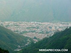 Vista de la ciudad de Mérida Venezuela