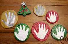 salt dough ornaments. easy recipe!