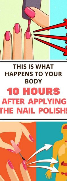 Secret Health Remedies This is What Happens To Your Body 10 Hours After Applying The Nail Polish! Vegan Nail Polish, Nail Polish Brands, Nail Polishes, Manicures, Natural Nail Polish, Endocrine System, Health And Beauty Tips, Health Tips, Healthy Beauty