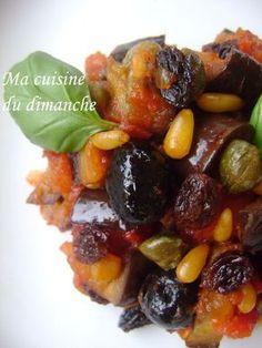 Caponata siciliana - The Best Protein Recipes