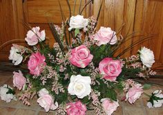 Mothers Day Silk Cemetery  Flowers Grave Floral Memorial via Etsy
