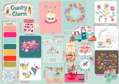 Katie....depending which print mood  you opt for....Advocate_Art_Trend_Board_country charm