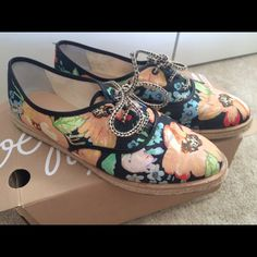 Loeffler Randall Floral Odile Espadrilles Like new Loeffler Randall Espadrille Tennis Shoes worn only 5 times. Great condition, no wear or fade on print besides the soles showing shoes have been worn they look brand new. Loeffler Randall Shoes