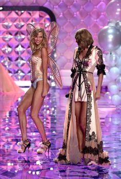 Karlie Kloss at the Victoria's Secret 2014 Fashion Show