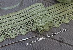 4128 Fantastiche Immagini Su Bordi Frange E Pizzi Nel 2019 Crochet