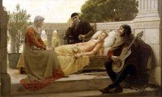 Edmund Leighton: How Liza Loved the King
