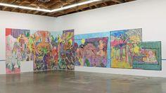 Dasha Shishkin installation view at Vielmetter