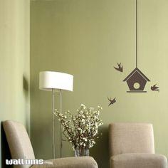 wall decals bird house | Visit wallums.com