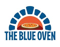 The Blue Oven- logo and in-store creatives