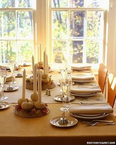 AART Event Planning: Thanksgiving Tablescapes