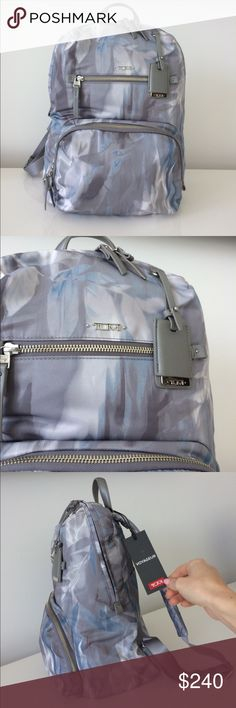 TUMI VOYGER BACKPACK NWT Amazing TUMI BACKPACK (also selling matching hard case carry on) check my other listing for that.... Tumi Bags Backpacks