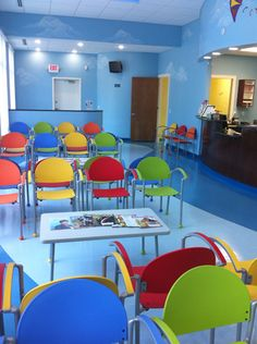 Affordable And Colorful Waiting Room Chairs Tables Toys