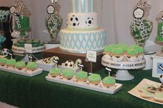 Soccer Birthday Party Ideas | Photo 4 of 52 | Catch My Party
