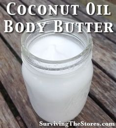 Homemade Coconut Oil Body Butter..love this! must to try losing weight, weight loss tips