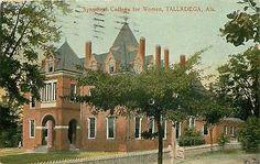 Alabama, AL, Talladega, Synodical College for Women 1910 Postcard