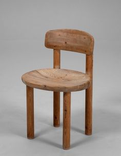 Rainer Daumiller; Pine Chair for Hirtshals Savverk, 1970s.