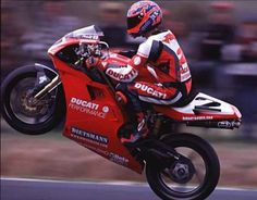 Carl Fogarty: the Blackburn Bomber!