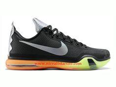 timeless design 79dea ae510 Nike Kobe 10 X All Star -Chaussures De Basket Pas Cher Pour Homme Noir
