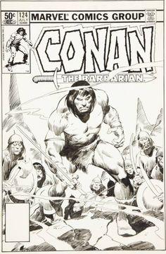 Conan 124 by John Buscema