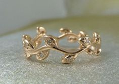 #jewel #ring #leaf #lovely #design #wedding