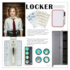 """""""Decorate Your Locker"""" by leoll ❤ liked on Polyvore featuring interior, interiors, interior design, home, home decor, interior decorating and mylocker"""