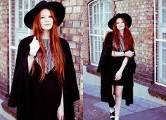 Houseofjam Via Striped Dress, Romwe Long Trench Coat