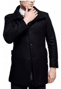 online shopping for SSLR Men's British Single Breasted Slim Wool Coat from top store. See new offer for SSLR Men's British Single Breasted Slim Wool Coat Mens Wool Coats, Types Of Coats, Men's Coats And Jackets, Mens Clothing Styles, Single Breasted, Slim, Clothes, Tops, British Fashion