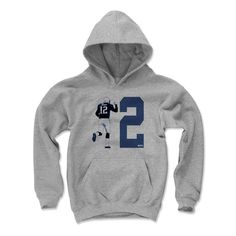 Kids Tom Brady 12 Victory B Youth Hoodie from 500 LEVEL. This Tom Brady Youth Hoodie comes in multiple sizes and colors.