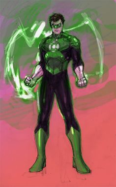 The New 52 Green Lantern by Jim Lee.