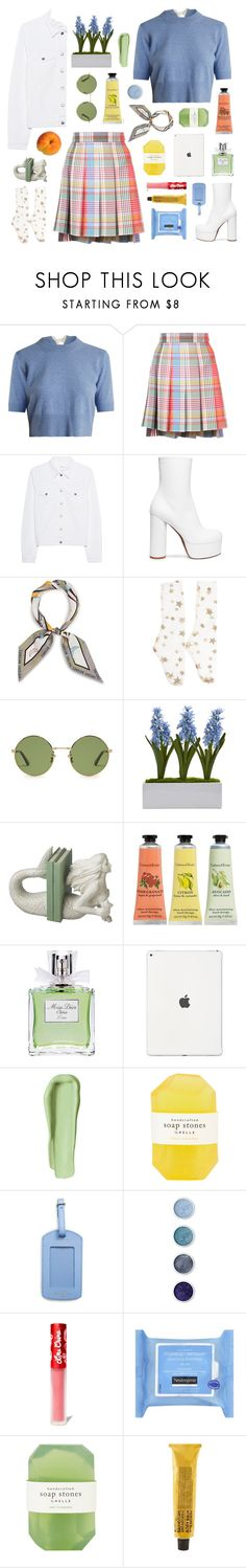 """""""you tell me i'm a handful"""" by typicalgemini ❤ liked on Polyvore featuring Altuzarra, Thom Browne, rag & bone, Vetements, Henri Bendel, Yves Saint Laurent, Nearly Natural, Dot & Bo, Crabtree & Evelyn and Christian Dior"""