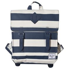 2982ed0ac0 Herschel Supply Co Navy Nautical Stripe Survey Backpack