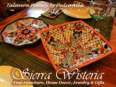 Exquisite Talavera Pottery by Pedro Alba & the Castillo Family in stock NOW! 530-258-4205 www.sierrawisteria.com